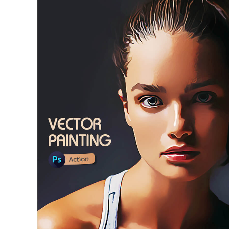 Vector Painting Photoshop Action (2)