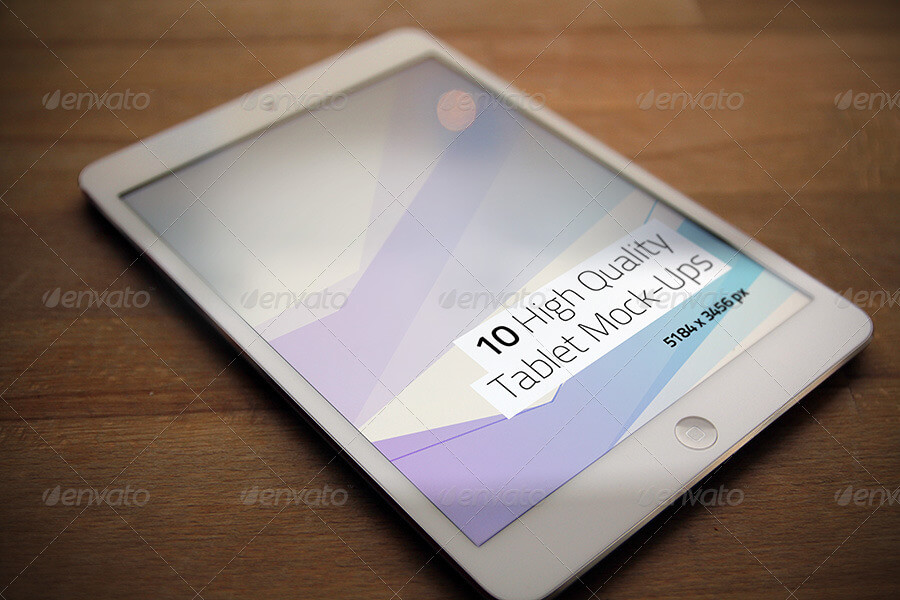 10 High Quality Tablet Mock-Ups (1)