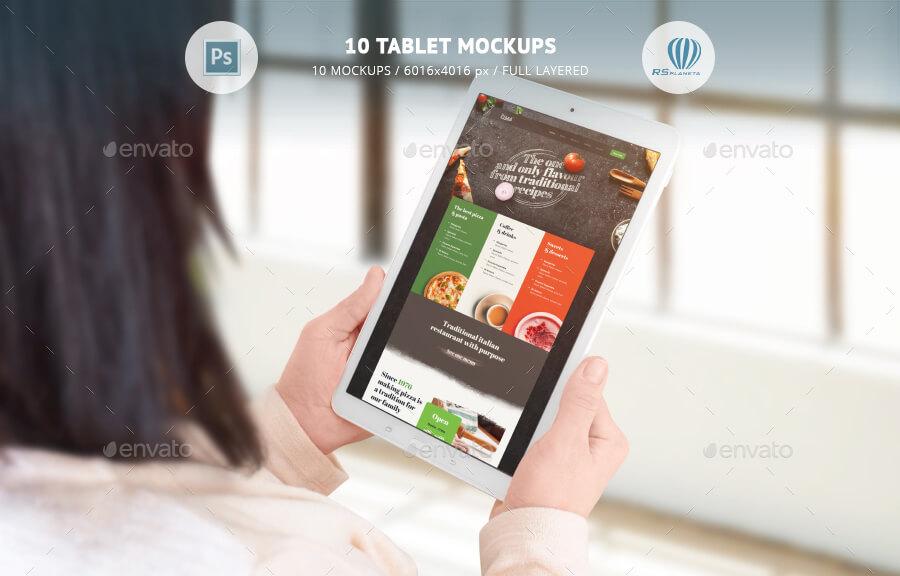 10 Tablet Mockups (1)