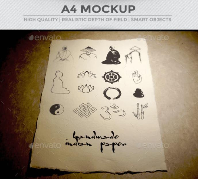 A4 Paper Mockup2