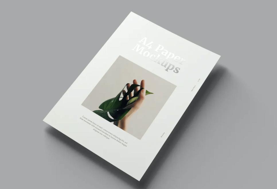A4 Paper Mockups2