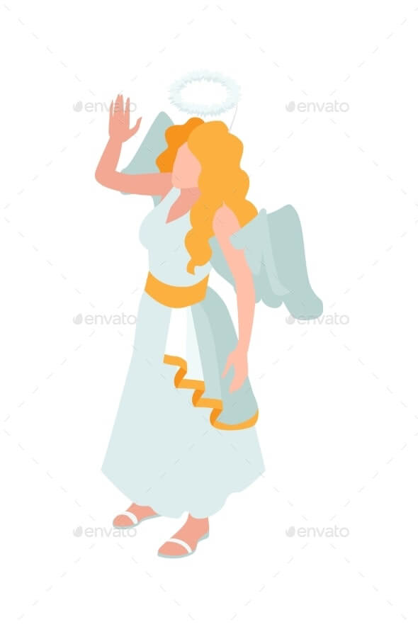 Angel Carnival Costume Illustration (1)