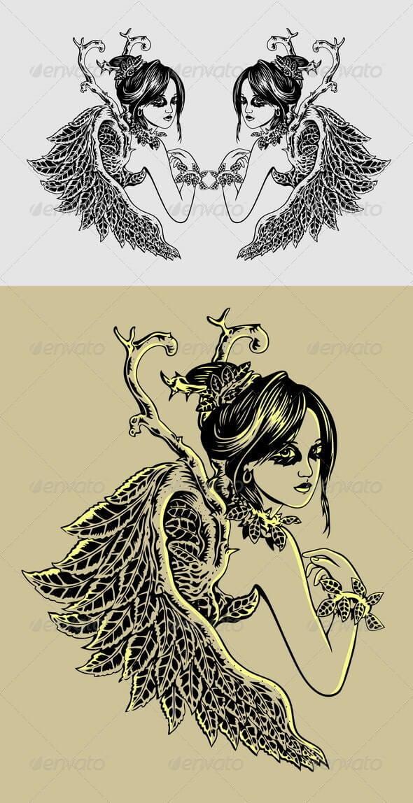 Angel Illustration (1)