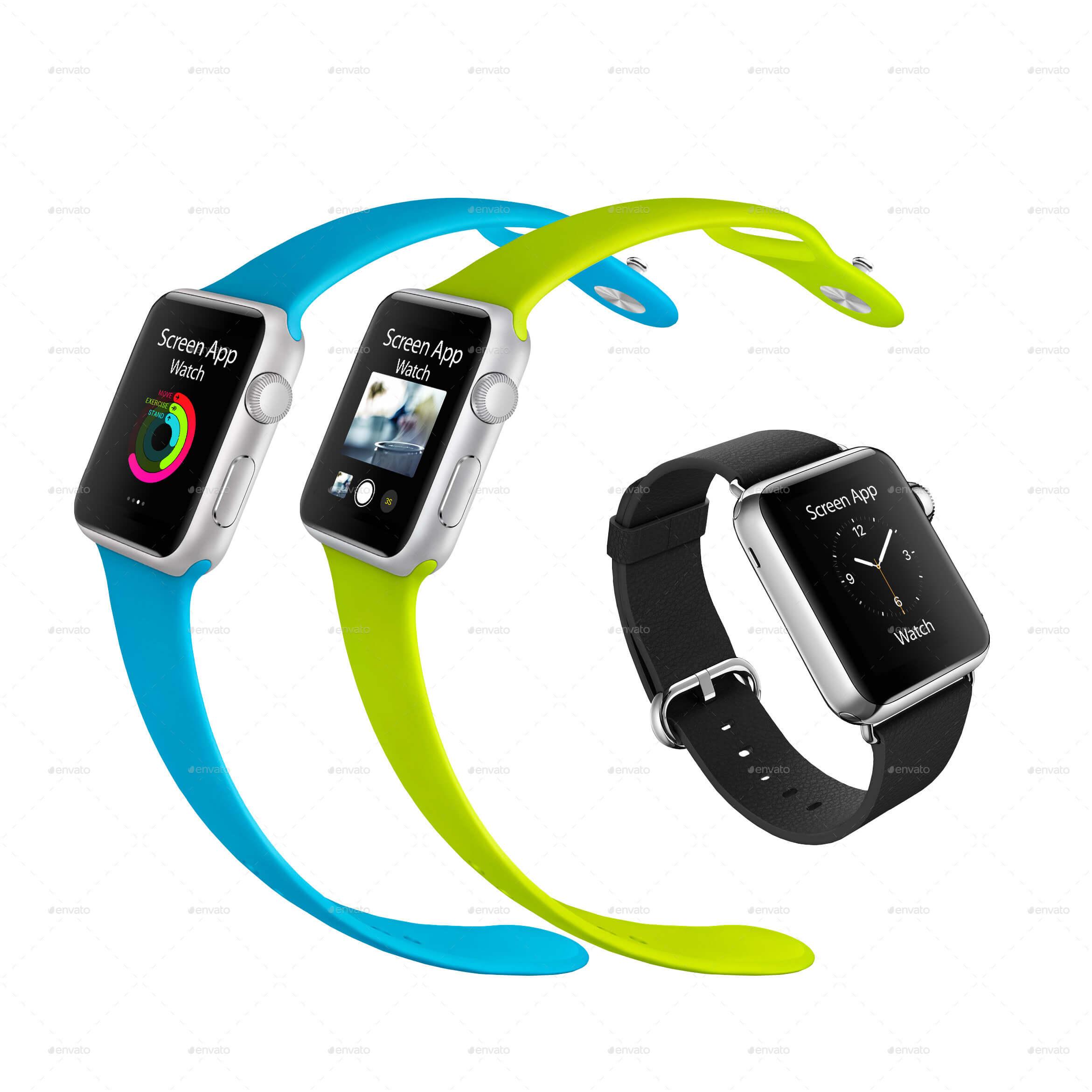 Apple Watch Mock-ups (1)