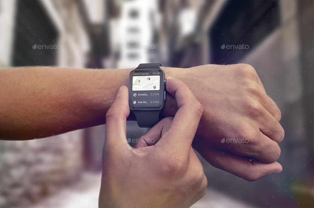 Apple Watch Mockup (1)
