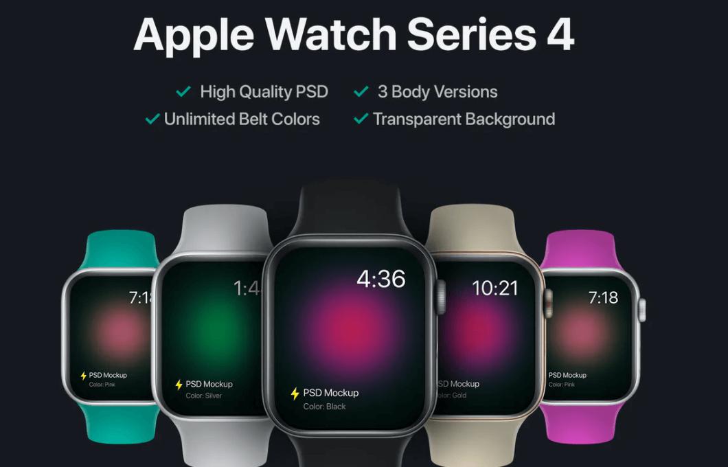Apple Watch Mockup2