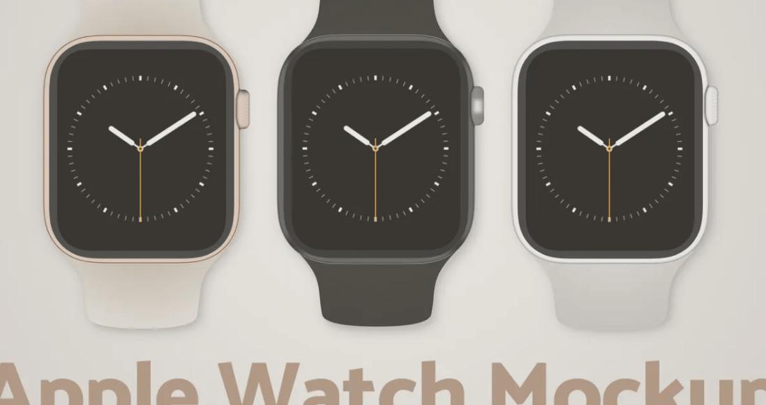 Apple Watch Sketch Mockup