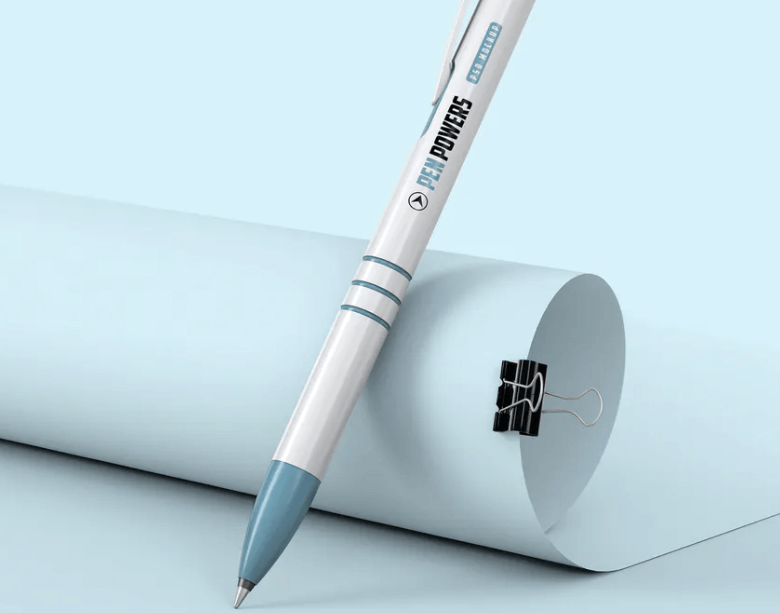 Ballpoint Pen Mockup1