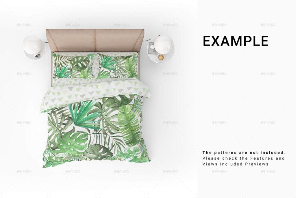 Bed Linens Mockup Set (1)