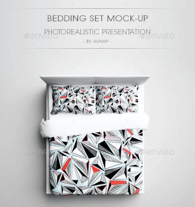Bedding Set Mock-Up
