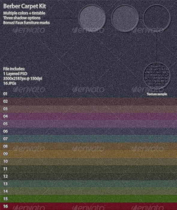 Berber Carpet Kit (1)