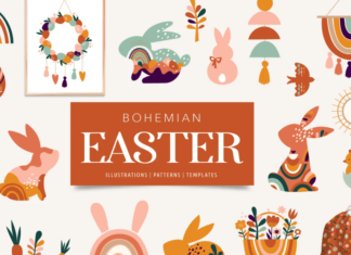 Bohemian Easter collection