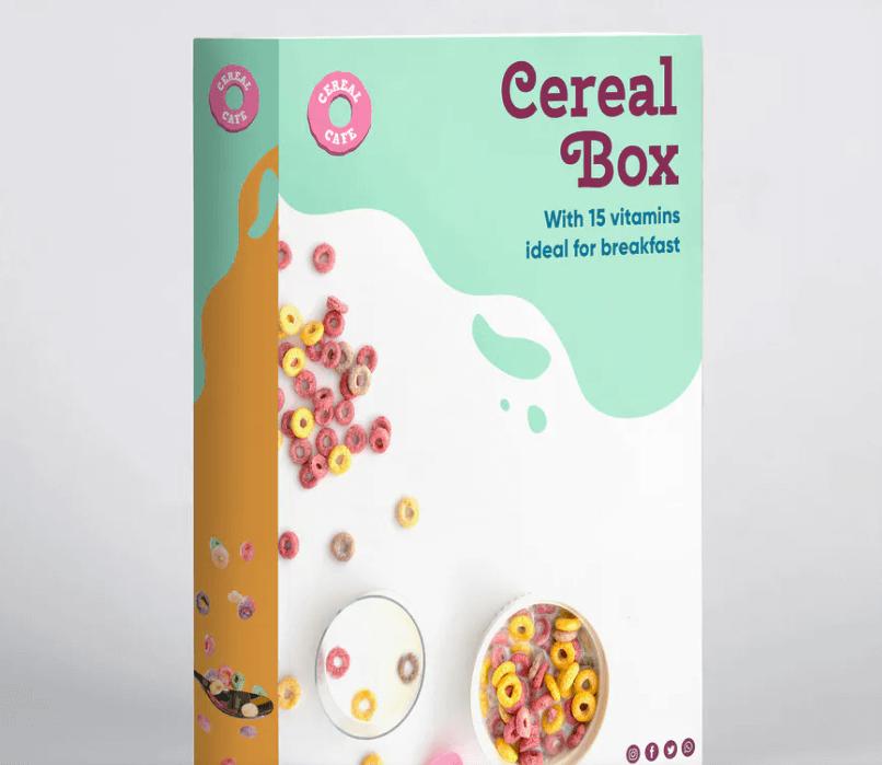 Cereal Box Mockup1