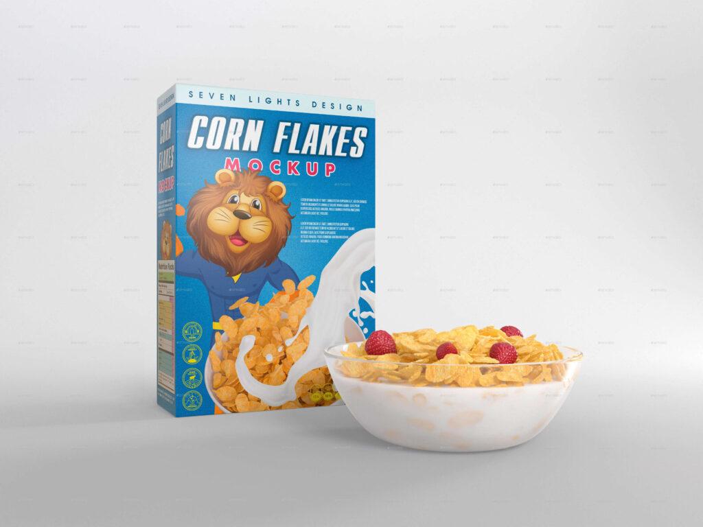 Cereal Package Mockup (1)