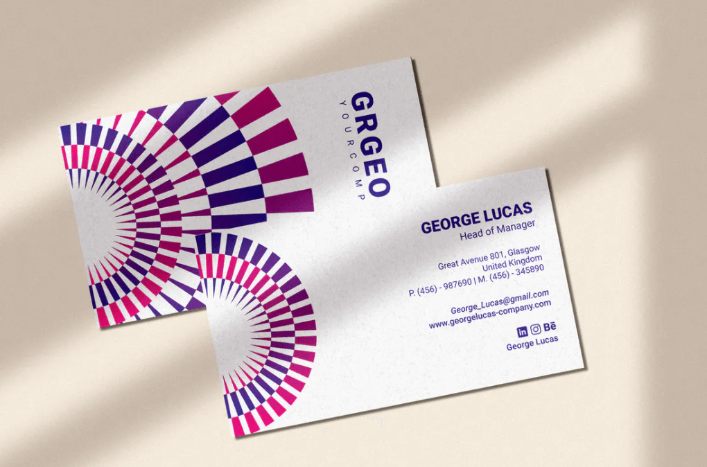 Circle – Business Card Template