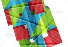 Colorful Geometric Shape Design Template (1)