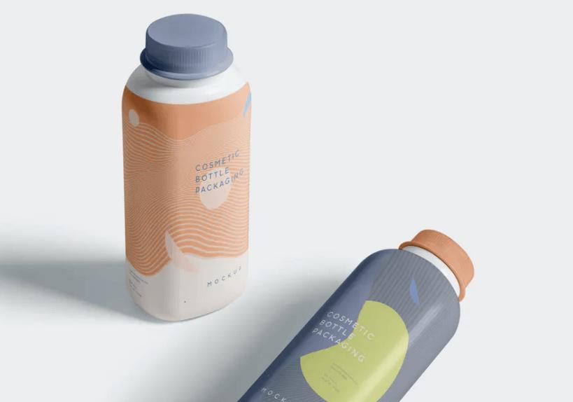 Cosmetic Bottle Packaging Mockups