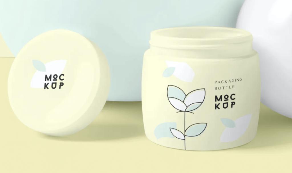 Cosmetic Packaging Bottle & Jar Mockups1