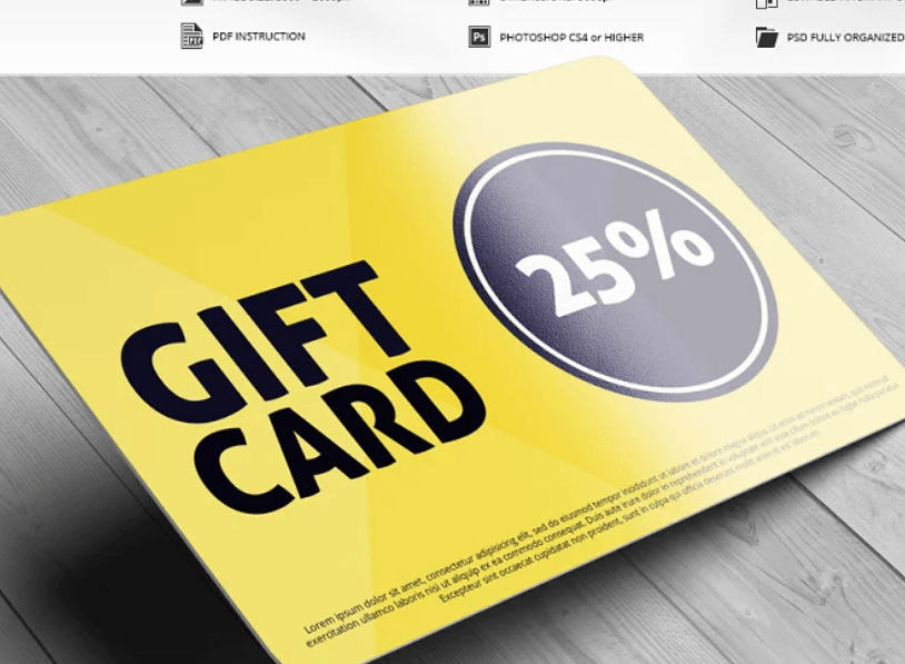 Discount Card Mock-Up