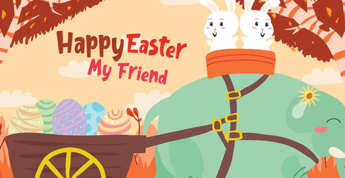 Easter - Vector Illustration