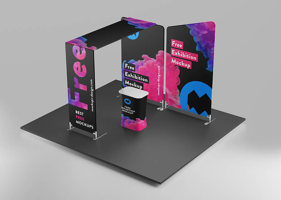 Free All New Exhibition Mockup PSD Template1 (1)