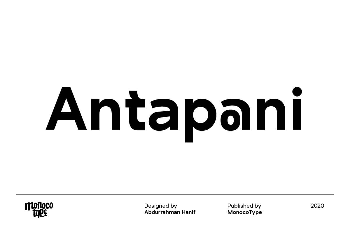 Free Antapani Sans Serif Font (1)