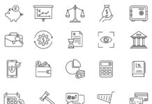 Free Banking Finance Vector Icons (1)
