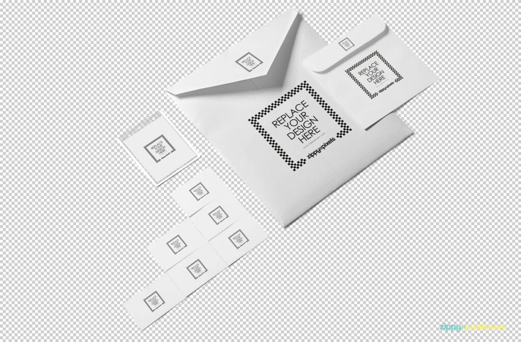 Free Beautiful Envelope Mockup PSD Template1 (1)