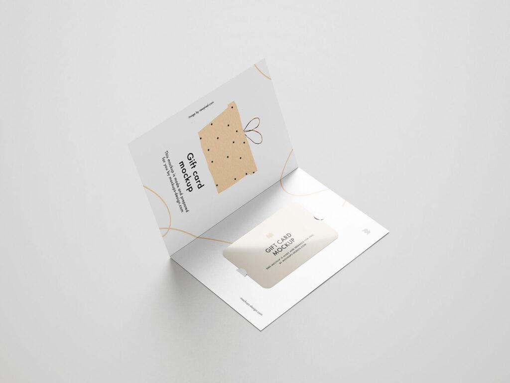 Free Beautiful Gift Card Mockup PSD Template3 (1)