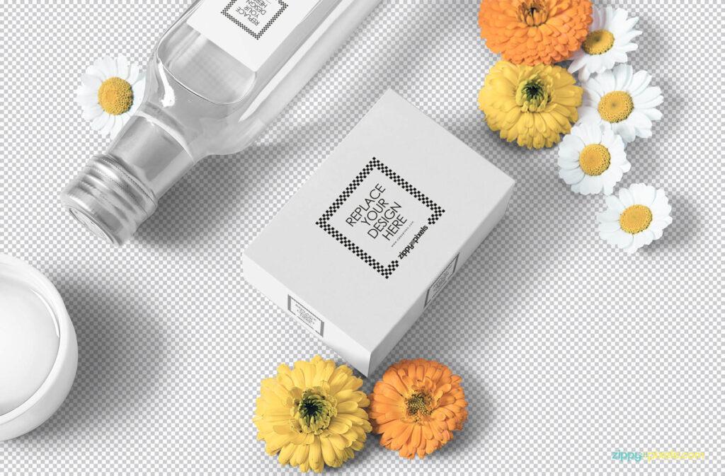 Free Beautiful Soap Packaging Mockup PSD Template1 (1)