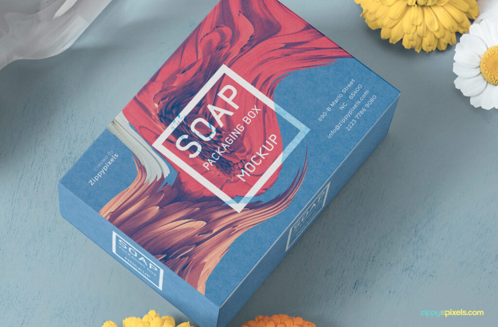 Free Beautiful Soap Packaging Mockup PSD Template2 (1)