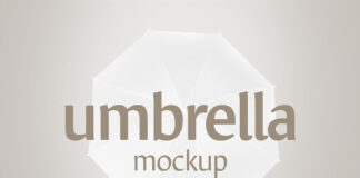 Free Beautiful Umbrella Mockup Set PSD Template (1)