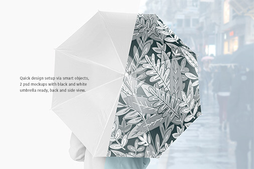 Free Beautiful Umbrella Mockup Set PSD Template1 (1)