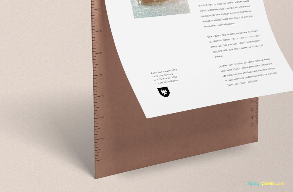 Free Brilliant Letter Mockup PSD Template3 (1)