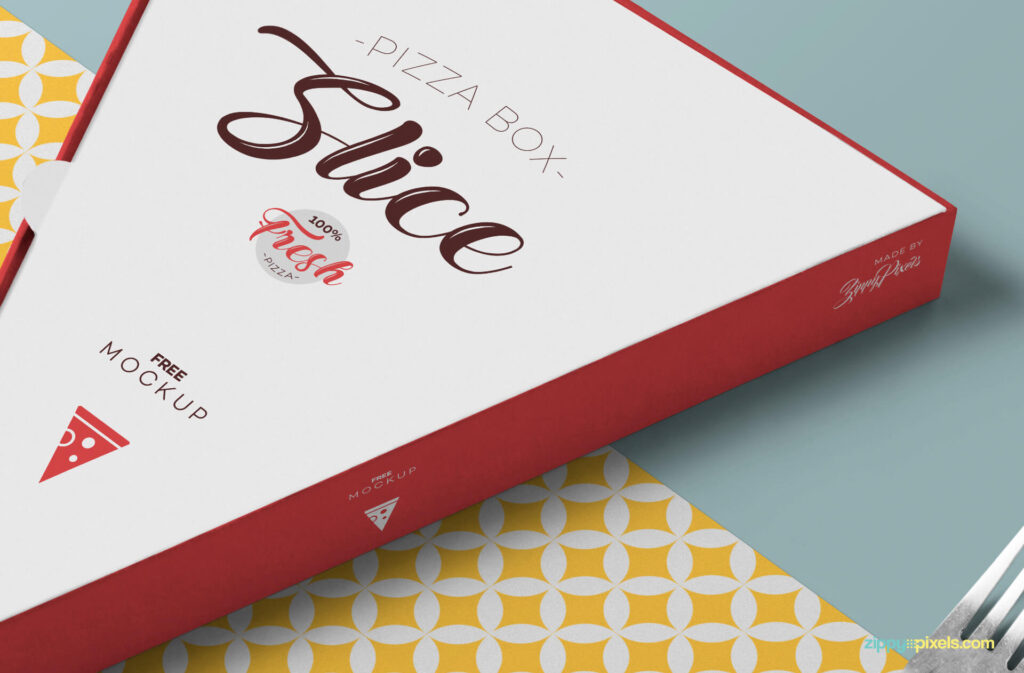 Free Changeable Pizza Slice Box Mockup PSD Template2 (1)