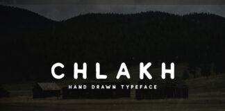 Free Chlakh Retro Typeface (1)