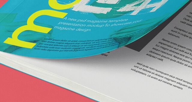 Free Compact A5 Magazine Mockup PSD Template1 (1)