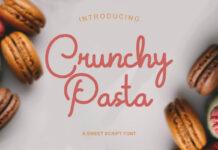 Free Crunchy Pasta Script Font (1)