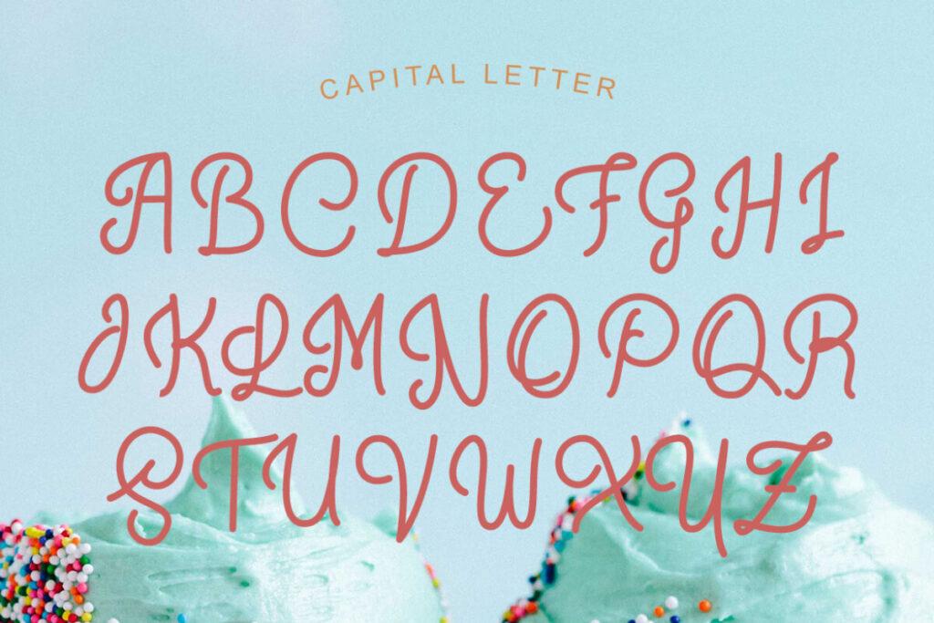 Free Crunchy Pasta Script Font1 (1)