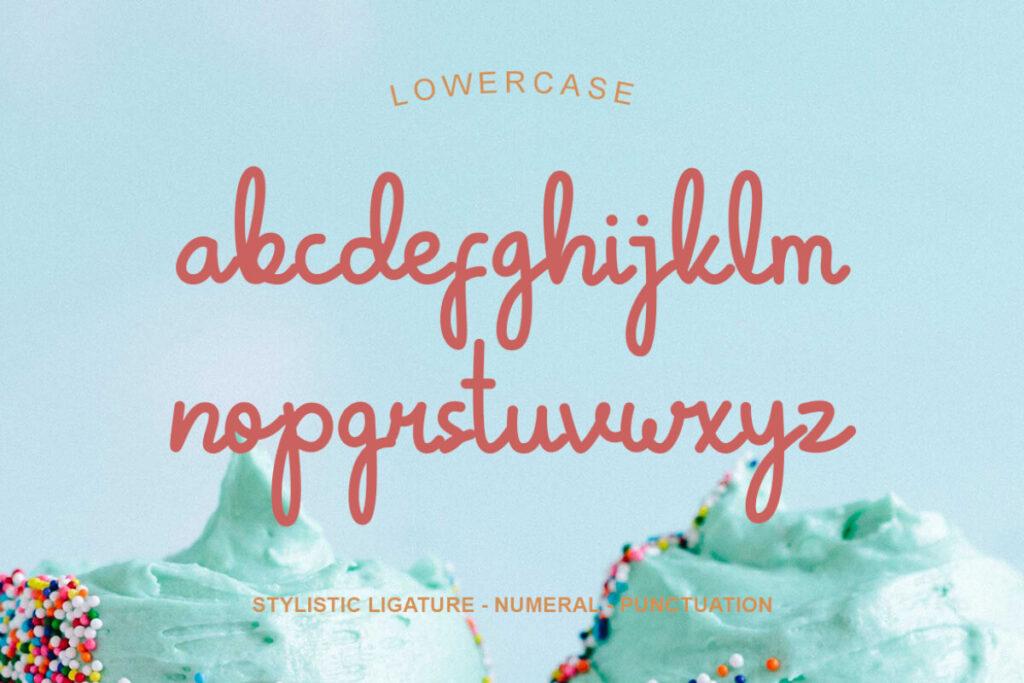 Free Crunchy Pasta Script Font2 (1)