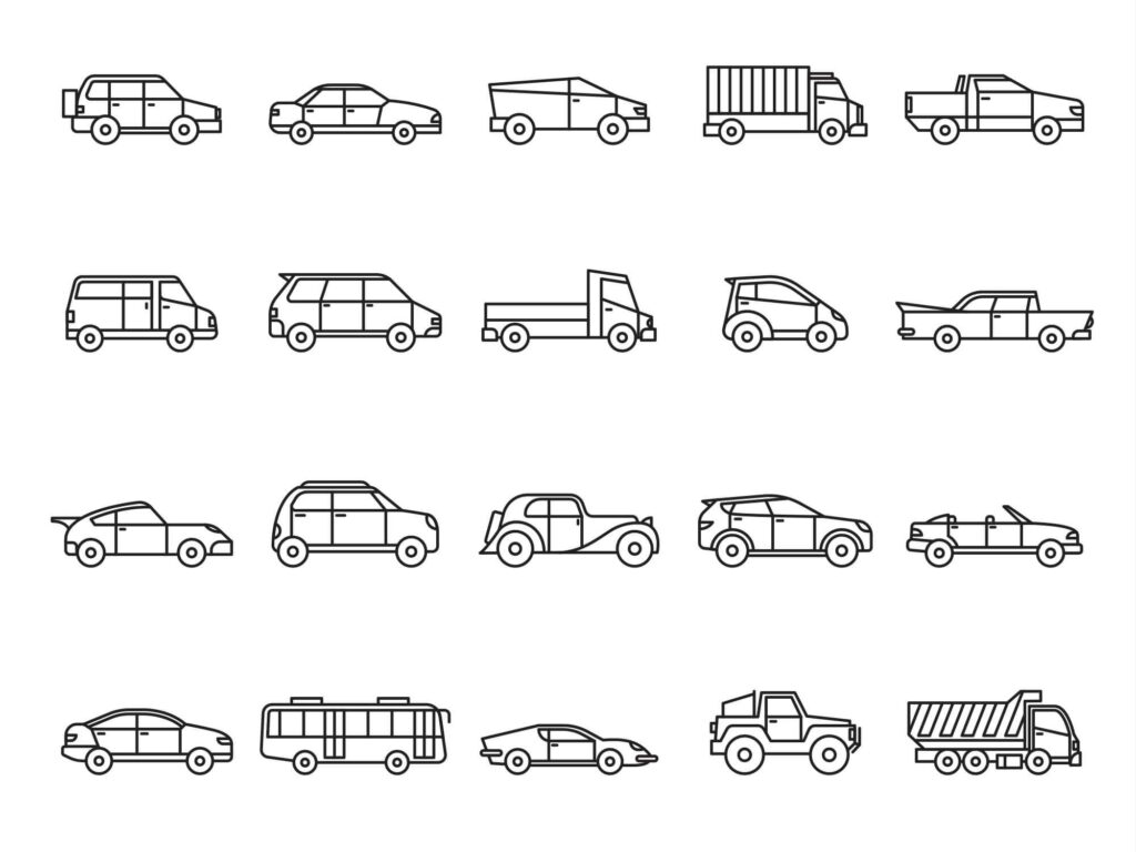 Free Essential Vehicles Vector Icons (1)