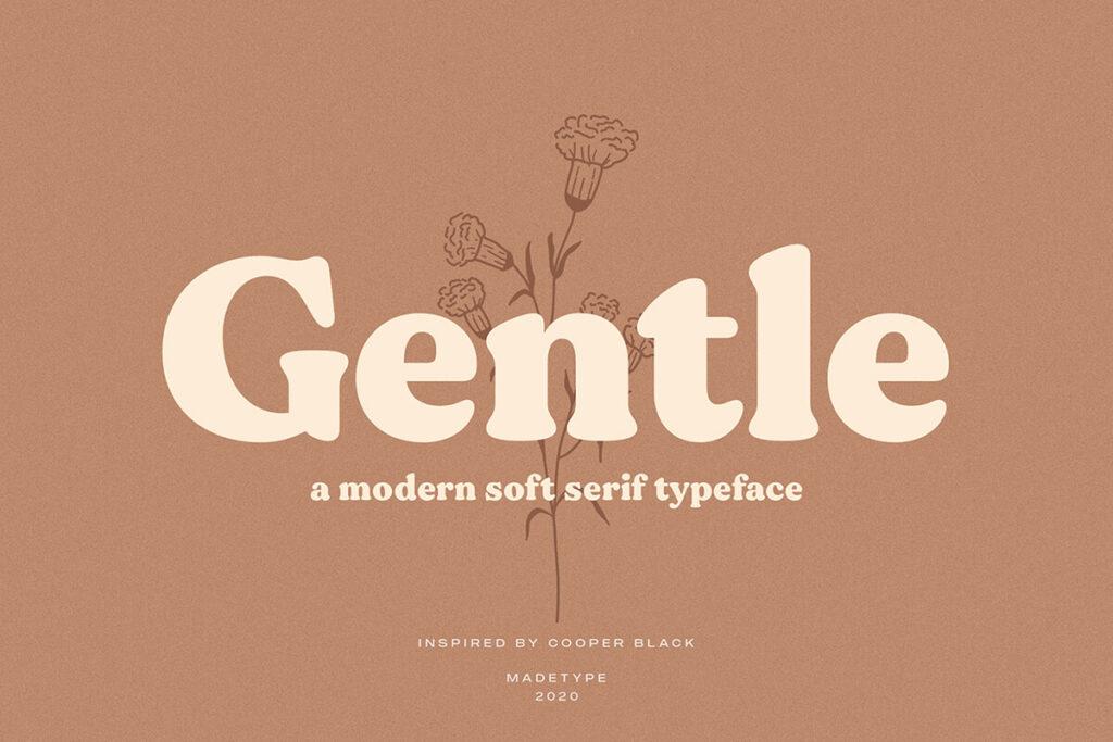 Free Gentle Modern Serif Typeface (1)