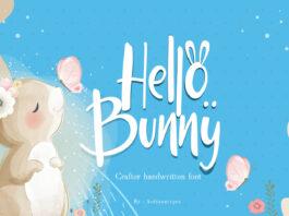 Free Hello Bunny Display Font (1)