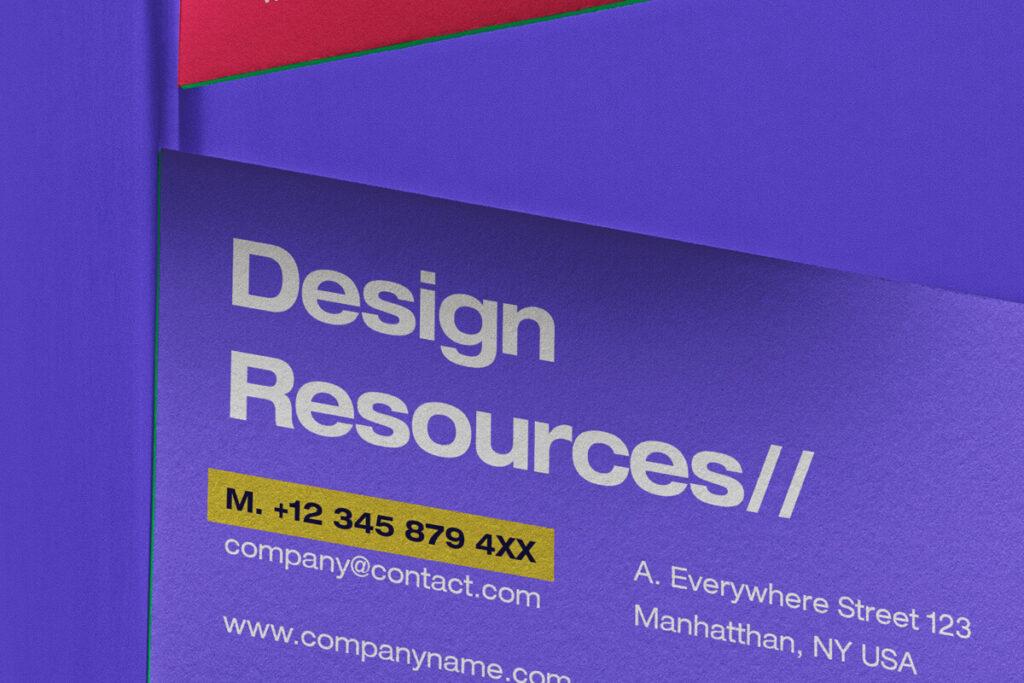 Free Incredible Business Card Scene Mockup PSD Template2 (1)