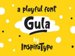Free Inspirable Gula Playful Font Demo (1)