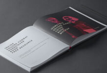 Free Isometric Square Hardcover Book Mockup PSD Template (1)