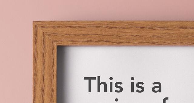 Free Landscape Wood Frame Mockup PSD Template2 (1)