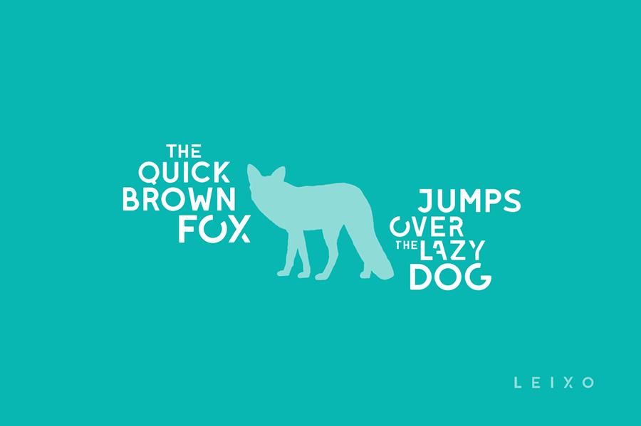 Free Multifunctional Leixo Stylish Stencil Font1 (1)