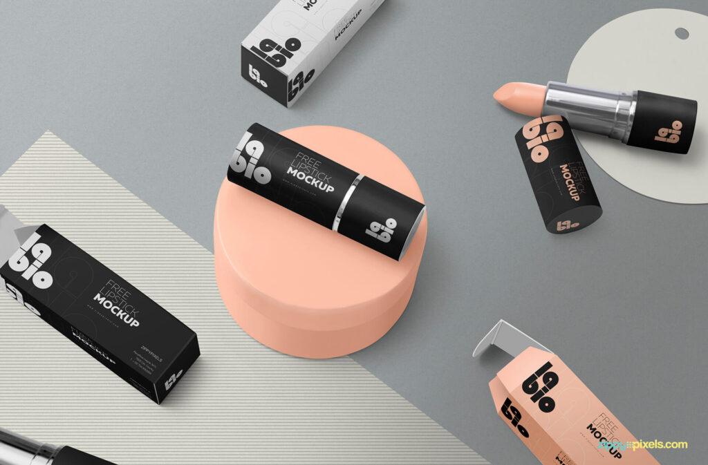 Free Perfect Matte Lipstick Mockup PSD Template3 (1)
