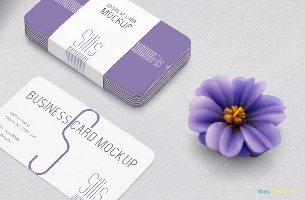 Free Presentative Business Card Mockup PSD Template3 (1)